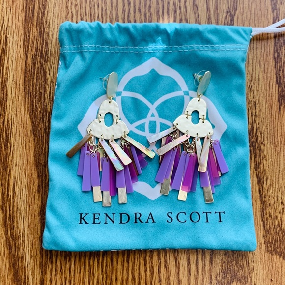 EUC Kendra Scott Kitty earrings